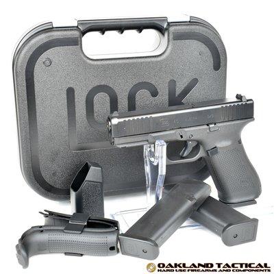 Glock GLOCK 45 (G45) 9MM 17RD 3 MAGS TNS FRONT SERRATIONS MFG# PA455S203 UPC# 764503030895