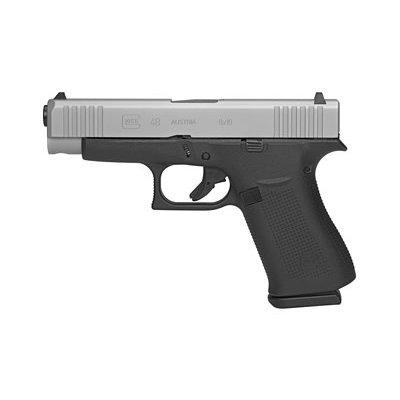 Glock GLOCK 48 9MM 10RD SILVER MFG# PA485SL201 UPC# 764503032707