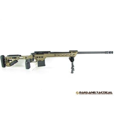 "Masterpiece Arms MasterPiece Arms (MPA) 6.5mm Caliber Curtis Bolt Action Rifle 24"" Match Grade Threaded Barrel Burnt Bronze MFG # MPA65BABB"