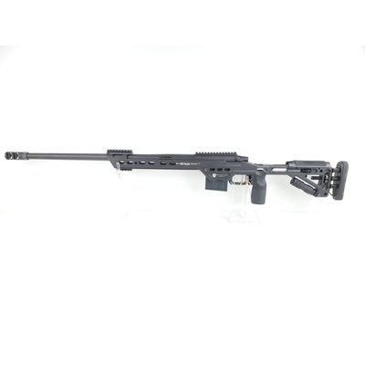 "Masterpiece Arms MasterPiece Arms (MPA) 6.5mm Caliber Curtis Bolt Action Rifle 24"" Match Grade Threaded Black MFG # MPA65BA"