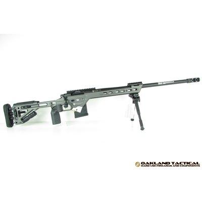 "Masterpiece Arms MasterPiece Arms (MPA) 6.5mm Caliber Curtis Bolt Action Rifle 24"" Match Grade Threaded Barrel Tungsten Grey MFG # MPA65BA"