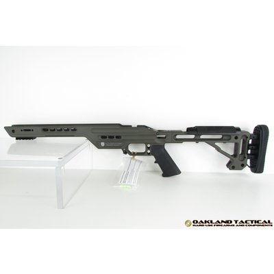 Masterpiece Arms Masterpiece Arms MPA BA Lite Chassis Tikka Short OD Green MFG # MPA BA Lite Chassis