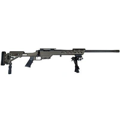 "Masterpiece Arms MasterPiece Arms 6mm Creedmoor Bolt Action Rifle 24"" Match Grade Threaded Barrel Black MFG # MPA6mmBA"