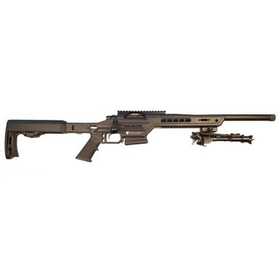 "Masterpiece Arms MasterPiece Arms .308 Winchester Bolt Action Rifle 16"" Match Grade Threaded Barrel (Compact Suppressor Ready) Black MFG # MPA308BA CSA UPC # 712038430628"