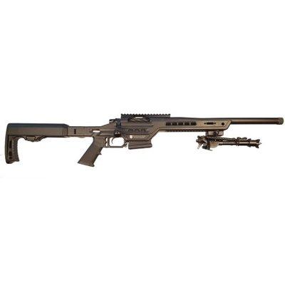 "Masterpiece Arms MasterPiece Arms 6.5 Creedmoor Bolt Action Rifle 20"" Match Grade Thread Barrel (Compact Suppressor Ready) Black MFG # MPA 65BA CSR UPC # 71203840611"