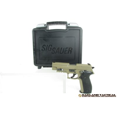 "Sig Sauer Sig Sauer P226 MK25 Desert Full-Size 4.4"" Barrel 9x19mm MFG# MK-25-D UPC# 798681472017"