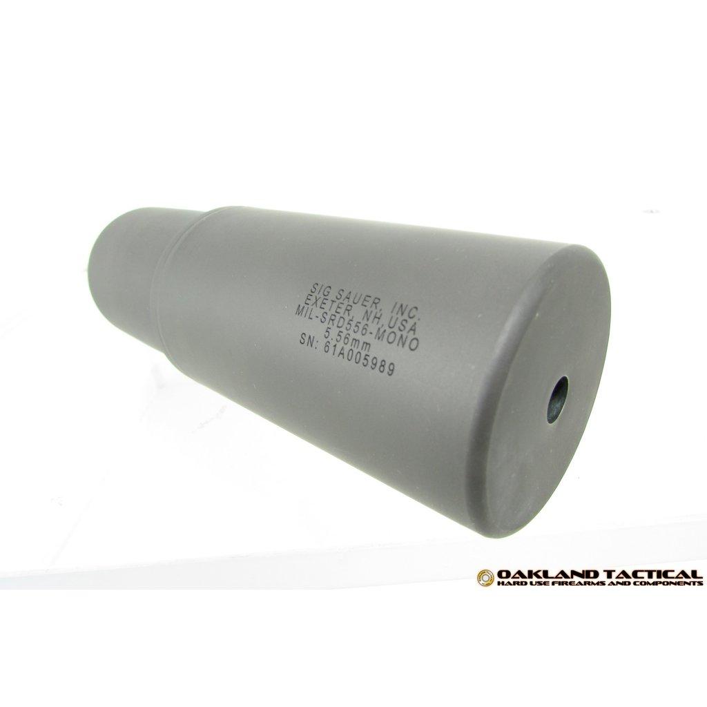 Sig Sauer Sig Sauer SRD556 Monocore Stainless 5.56mm Nato Suppressor MFG # MIL-SRD556-MONO UPC# 798681532438