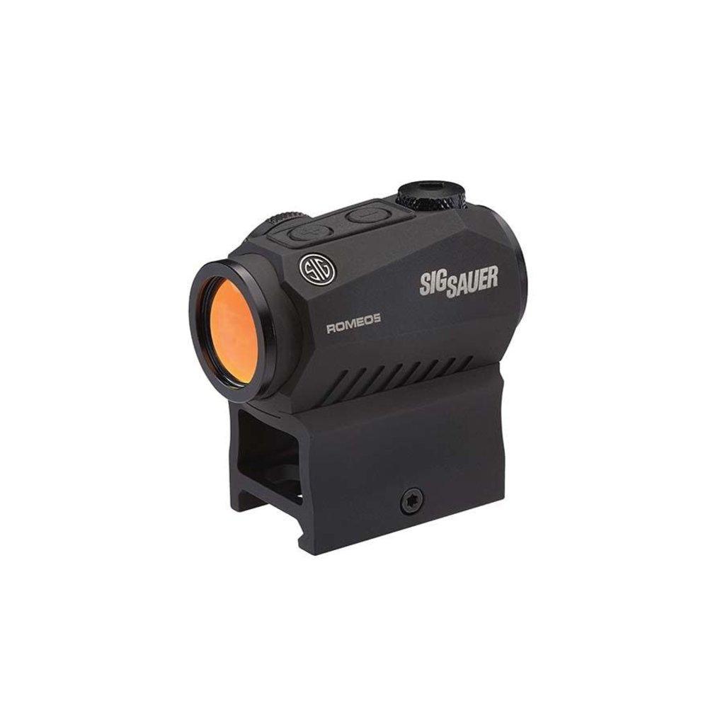 Sig Sauer Sig Sauer ROMEO5 1x20mm 2MOA Red Dot MFG # SOR52001 UPC # 798681553396