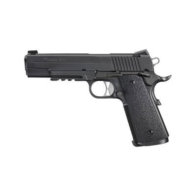 "Sig Sauer SIG 1911R TO 10MM 5"" 8RD BLK NS ERG MFG# 1911R-10-TACOPS UPC# 798681529582"