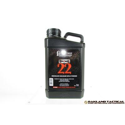 Alliant Powder Reloder 22 Smokeless Magnum Rifle Powder 8 lbs UPC Code # 008307604051