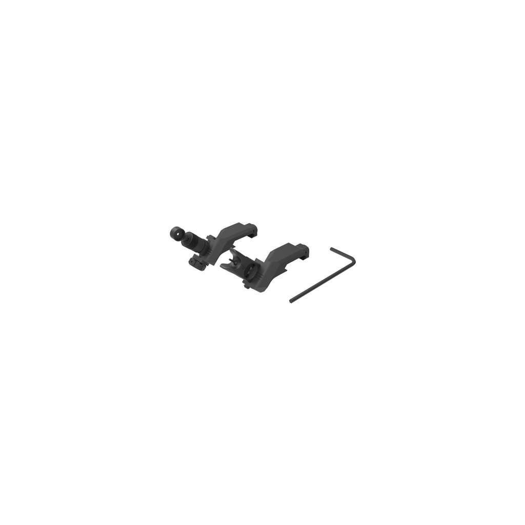 Knights Armament Company Knights Armament 45° Offset Folding Micro Sight Kit 200-600 Meter Clamp Mount MFG # 31593