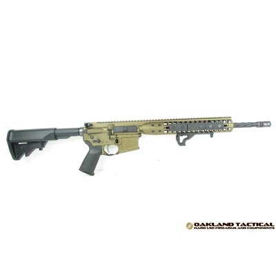 "LWRC LWRC International M6IC DI Direct Impingement 16"" Burnt Bronze 5.56mm Nato MFG #ICDIR5BB16 UPC Code # 855193006878"