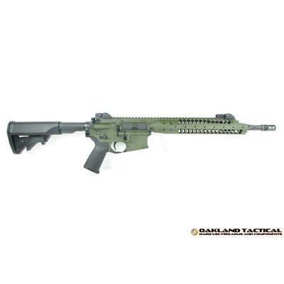 "LWRC International M6IC A5 14"" Barrel 5.56x45mm OD Green MFG # ICA5R5ODG14P UPC Code # 859890005745"