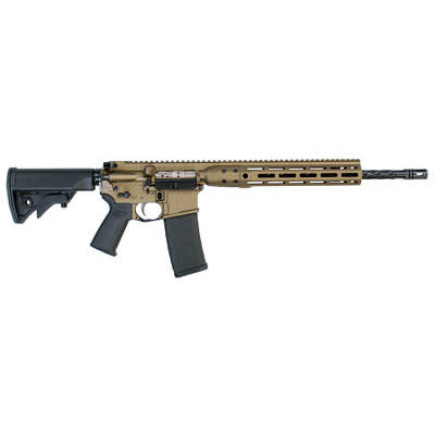 "LWRC LWRC DI RIFLE 556NATO 16.1"" MLOK BRZ MFG# ICDIR5BB16ML UPC# 853677007052"