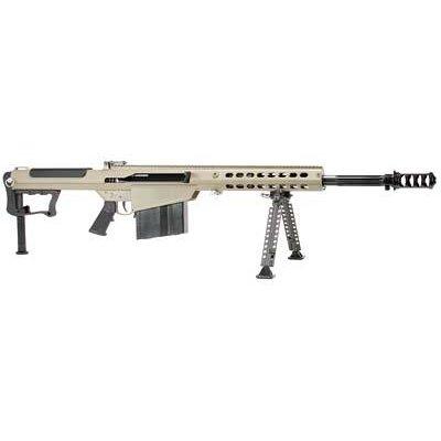 """BARRETT M107A1 50BMG 20"""" FDE 10RD MFG# 14558 UPC# 816715013071"""