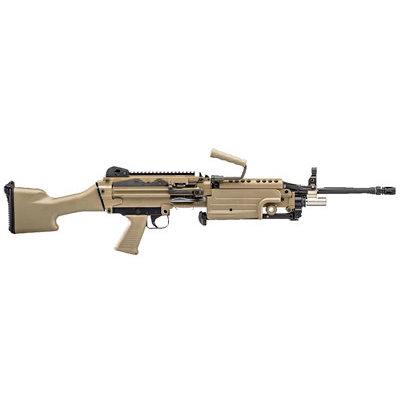 "FNH USA FN M249S 5.56NATO 18.5"" BLT FDE MFG# 46-100028 UPC# 845737009649"