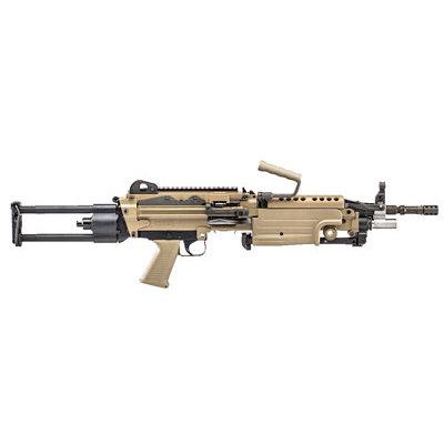 """FNH USA FN M249S 5.56NATO 16.1"""" BLT FDE PARA MFG# 46-100030 UPC# 845737009687"""