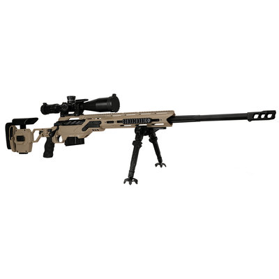 "Cadex Defence CDX-MC Kraken Multi-Cal Rifle 27"" Barrel .338 Lapua Mag, Black MFG # CDXMC-KRKN-338-27"