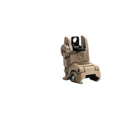 Magpul Industries Mapgul MBUS Sight - Rear FDE MFG # MAG248 UPC # 873750004365
