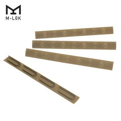 Ergo Ergo M-Lok WedgeLok Slot Cover Grip - 4 Pack Dark Earth MFG # 4332-4PK-DE UPC # 874748006194