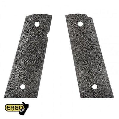 Ergo Ergo Grip 1911 XTR Square Bottom Hard Rubber Grip MFG # 4510-BK UPC # 874748002523