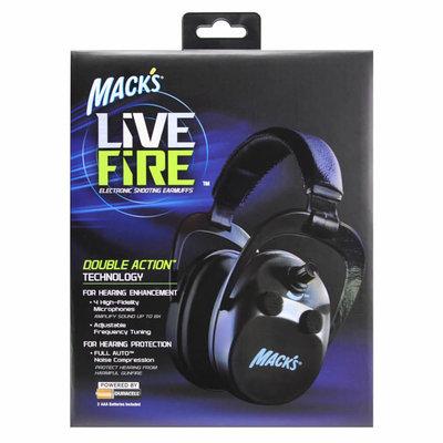 Mack's LiveFire Electronic Earmuffs - Black MFG #: 4421 UP