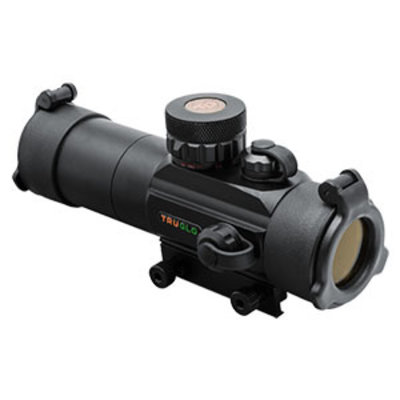 TruGlo 30mm Dual Color Tactical Red-Dot 30mm Tac Black MFG # TG8030TB UPC # 788130012598