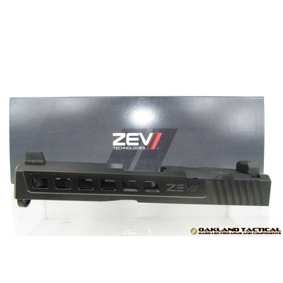 Zev Technologies ZEV Technologies Dragonfly Black G19 Absolute Cowitness with RMR Cover Plate MFG #SLD.KIT-Z19-3G-DFLY-RMR-CW.ABS-DLC UPC #811745024080