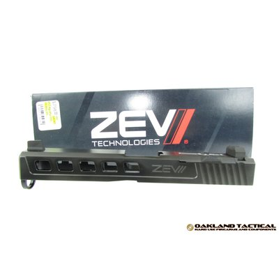 Zev Technologies ZEV Technologies Dragonfly Black G17 Gen 4 Absolute Co-Witness with RMR Cover Plate MFG #SLD-KIT-Z17-4G-DFLY-RMR-CW-ABS-DLC UPC #811745027449