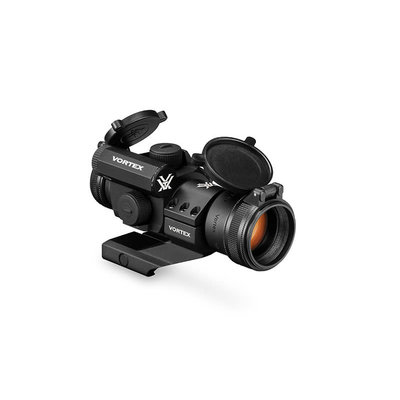Vortex Optics Vortex Optics StrikeFire II Red Dot 4 MOA Bright Red Dot Lower 1/3 Co-Witness Cantilever Mount MFG # SF-BR-503 UPC # 875874005525