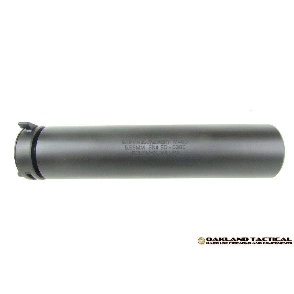 Griffin Armament Griffin Armament M4SD Silencer 5.56mm MFG #GAM4SD UPC #791154080962