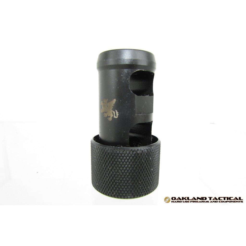Griffin Armament Griffin Armament Over the Barrel Muzzle Mount Brake 1/2x28 MFG # OTBMM1228 UPC # 791154082041