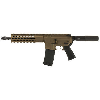 "Diamond Back DB15 Pistol 5.56 10.5"" 30RD Bronze MFG# DBF15PBB10 UPC# 815875014362"