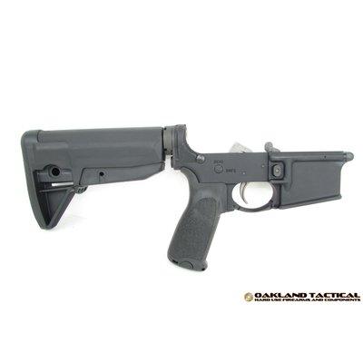 Bravo Company BCM Gunfighter Lower Receiver Group with Stock Mod 0 Black MFG # LRG-STK-MOD-0-BLK-COSMO UPC Code # 812526020437