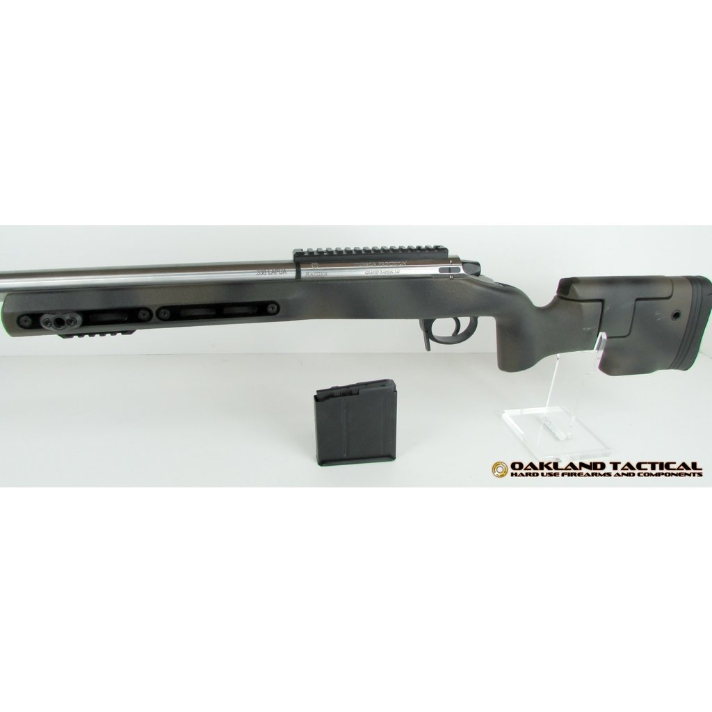 "(Pre Owned) Tuebor Precision 31"" .338 Lapua Rifle comes with one magazine"