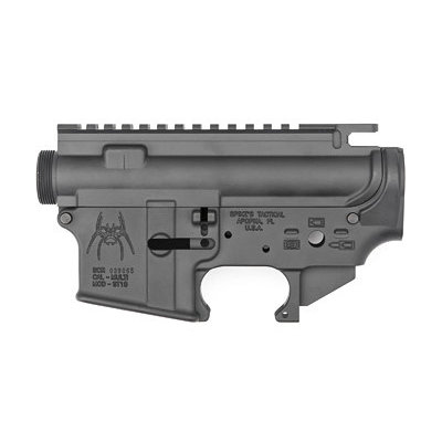 Spike's Tactical SPIKE'S STRIPPED UPPER/LOWER SET GRY MFG# STS1515 UPC# 855319005624