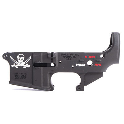 Spike's Tactical SPIKE'S STRIPPED LOWER(CALICO JACK) MFG# STLS016-CE UPC# 815648021764