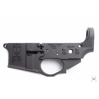 Spike's Tactical Spike's Tactical Lower (Multi) Forged Crusader - Peace/War/God Wills it MFG # STLS022 UPC # 855319005075