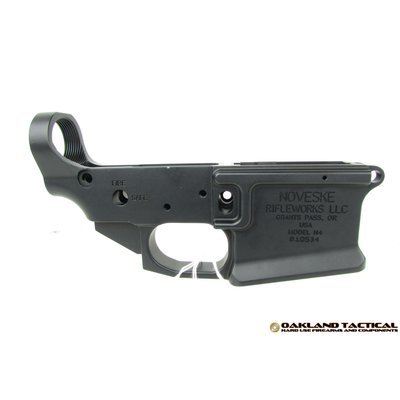 Noveske Noveske Gen3 Lower Receiver Black Anodized UPC# 840906111222 MFG#NVGEN3LOWER-BLKANO
