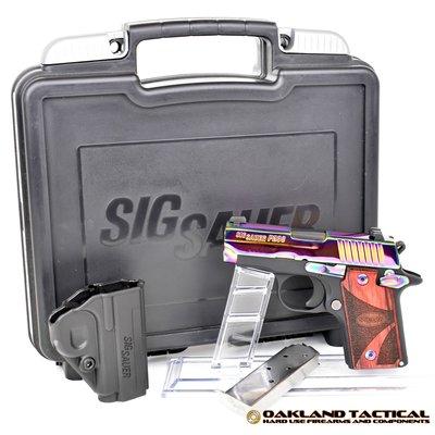 "Sig Sauer SIG P238 380ACP 6RD 2.7"" RNBW NS WD MFG# 238-380-RBT UPC# 798681418497"