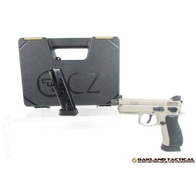 CZ-USA CZ USA CZ 75 P-01 Ω (Omega) 9mm Urban Grey Suppressor Ready MFG # 91299 UPC Code # 806703912998