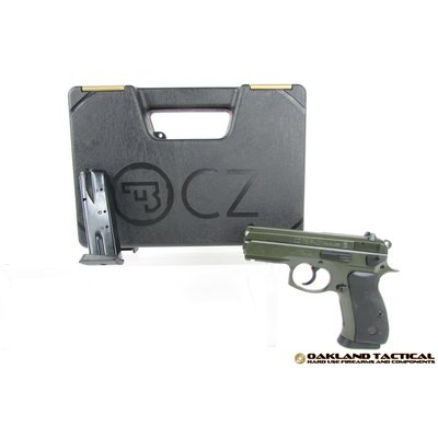 "CZ-USA CZ-USA CZ P-01 3.8"" Barrel 9x19mm OD Green MFG # 91198 UPC Code # 806703911984"
