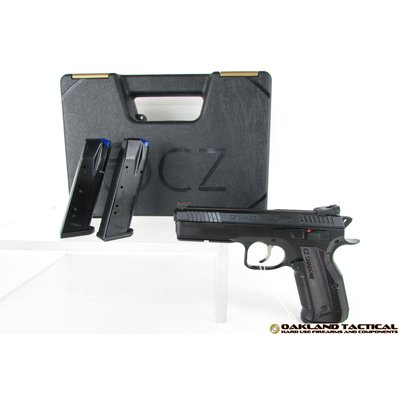 "CZ-USA CZ-USA Shadow 2 Black 4.89"" Barrel 9x19mm MFG # 91254 UPC # 806703912547"