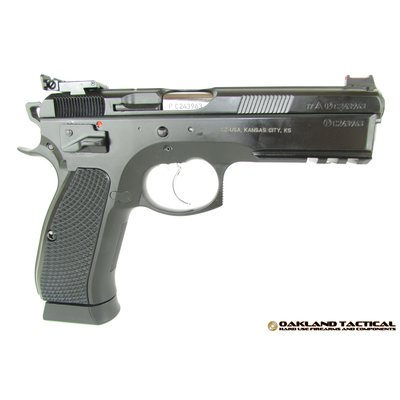 "CZ-USA CZ-USA CZ 75 SP-01 Shadow Target II 4.6"" Barrel 9x19mm MFG # 91760 UPC # 806703917603"