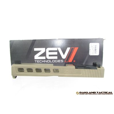Zev Technologies ZEV Technologies Dragonfly FDE G17 Absolute Co-Witness with RMR Cover Plate MFG #SLD.KIT-Z17-3G-DFLY-RMR-CW.ABS-FDE UPC #811745024066