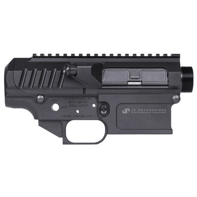 JP Enterprises JP Enterprises LRP-07 Side-Charging Upper and Lower Receiver Set with Complete LMOS Carrier Group Military Version MFG # LRP07LR/MURA4