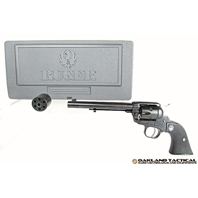 Ruger Ruger New Model Single-Six .22 Cal Single-Action Revolver MFG #0646 UPC #736676006465