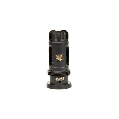 Griffin Armament GRIFFIN 1/2X28 FLASH COMP 5.56MM MFG# TFC556-12 UPC# 791154081297