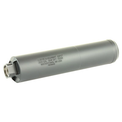 Griffin Armament GRIFFIN GP7 30CAL 5/8X24 SPPRSSR BLK MFG# GAGP7 UPC# 791154080993