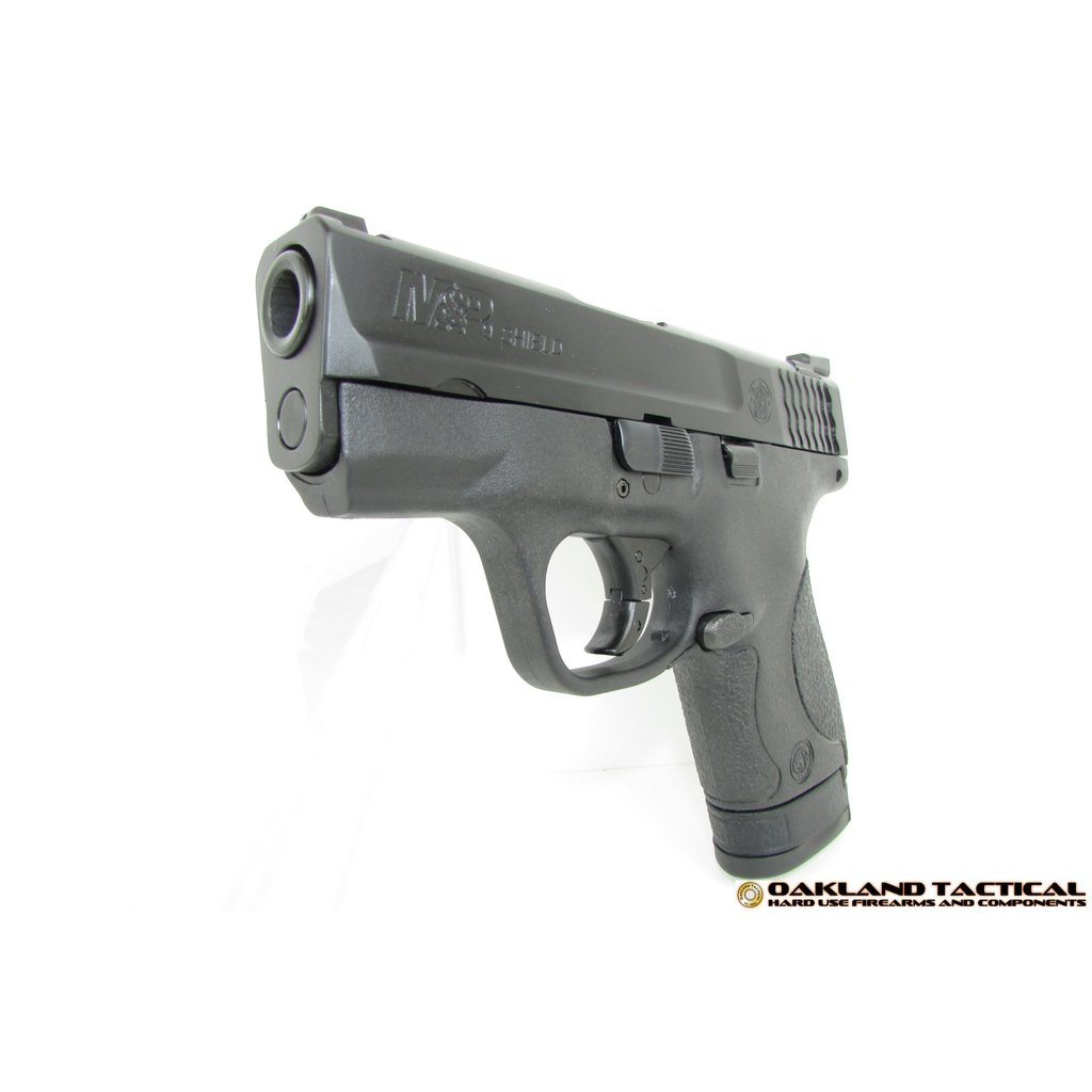 (Law Enforcement) Smith & Wesson M&P9 Shield Tritium Night Sights - No Thumb Safety MFG # 10086 UPC Code # 022188867435